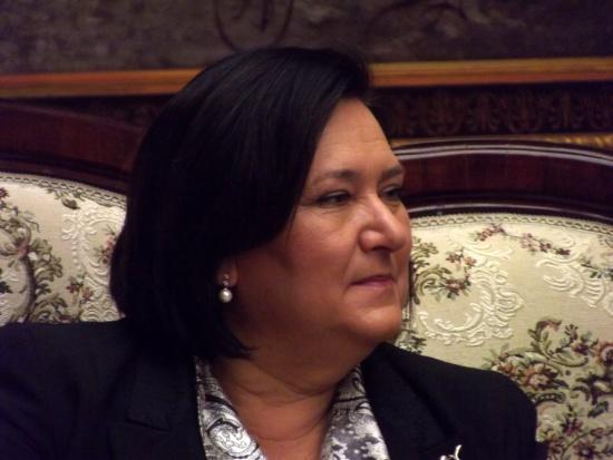 Anna Komorowska spotkała się ze słuchaczami Uniwersytetu Trzeciego Wieku
