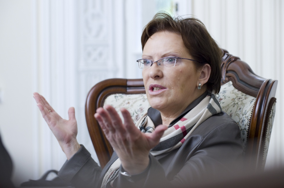 Premier chwali się m.in. Narodowym Instytutem Geriatrii