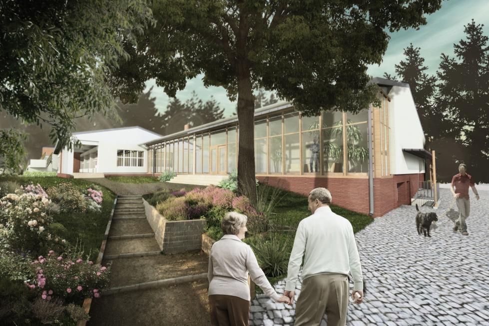 Projektują dla osób starszych. Zobacz wizualizacje domu opieki