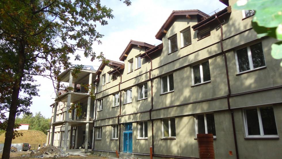 Ełcki dom seniora w budowie - zobacz zdjęcia