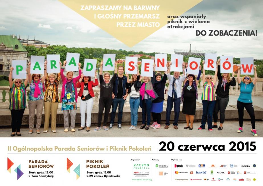 Ulicami Warszawy przejdzie Parada Seniorów