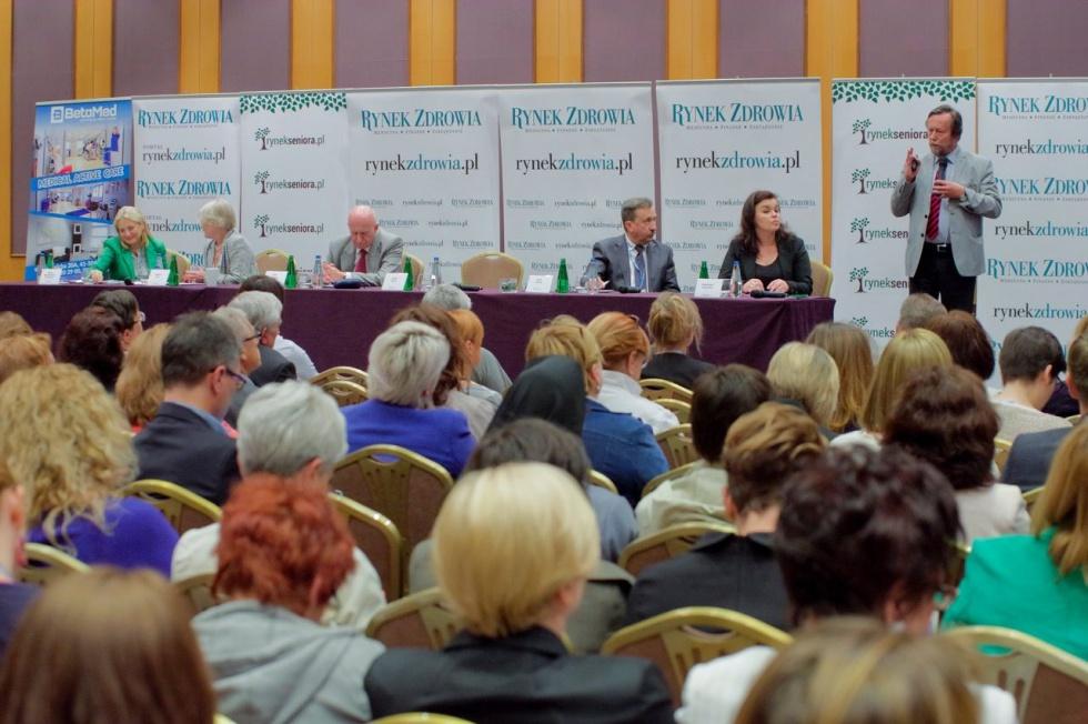 Zobacz zdjęcia z Forum Rynku Seniora - sesja dot. opieki medycznej