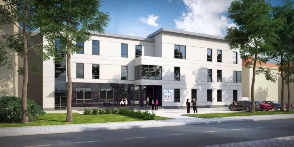 Budowa Regionalnego Centrum Leczenia Bólu w Mońkach na finiszu