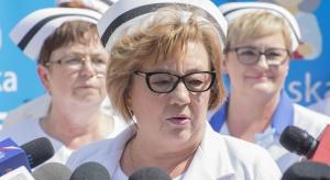 Tłumy pielęgniarek na ulicach Warszawy, nowa propozycja ministra