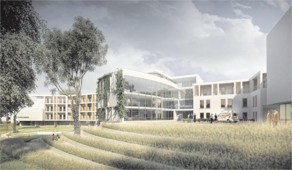 Projekt Centrum Opiekuńczo-Rehabilitacyjnego Swissmed będzie gotowy już w październiku