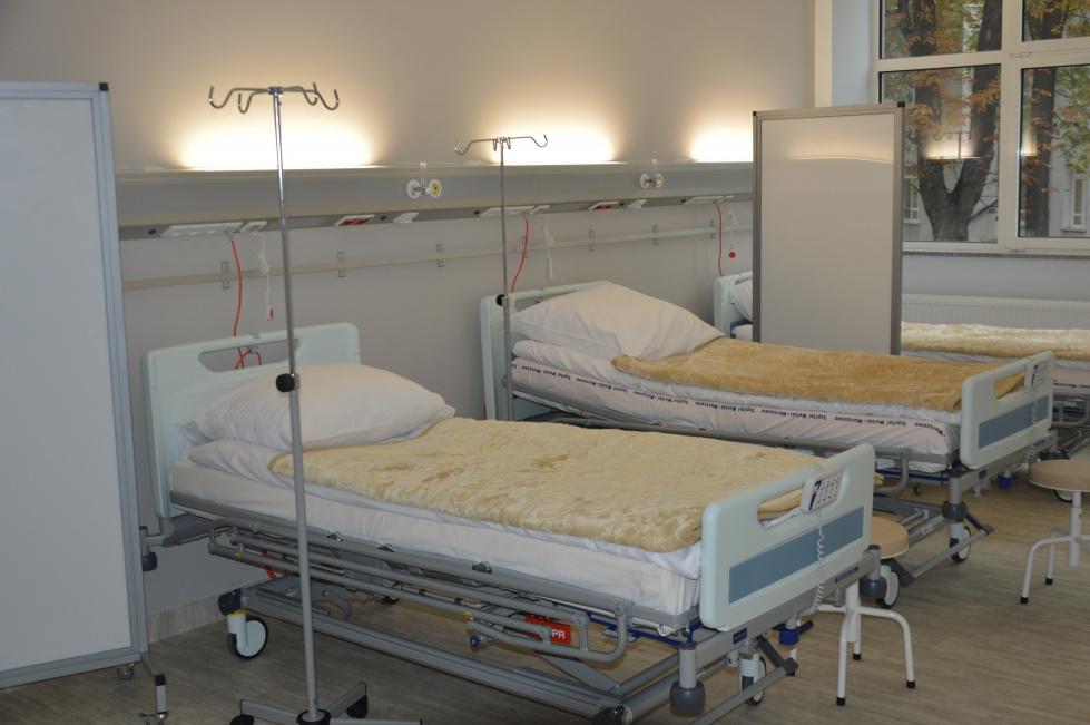 Nowy oddział geriatryczny w Szpitalu Wolskim - zobacz zdjęcia