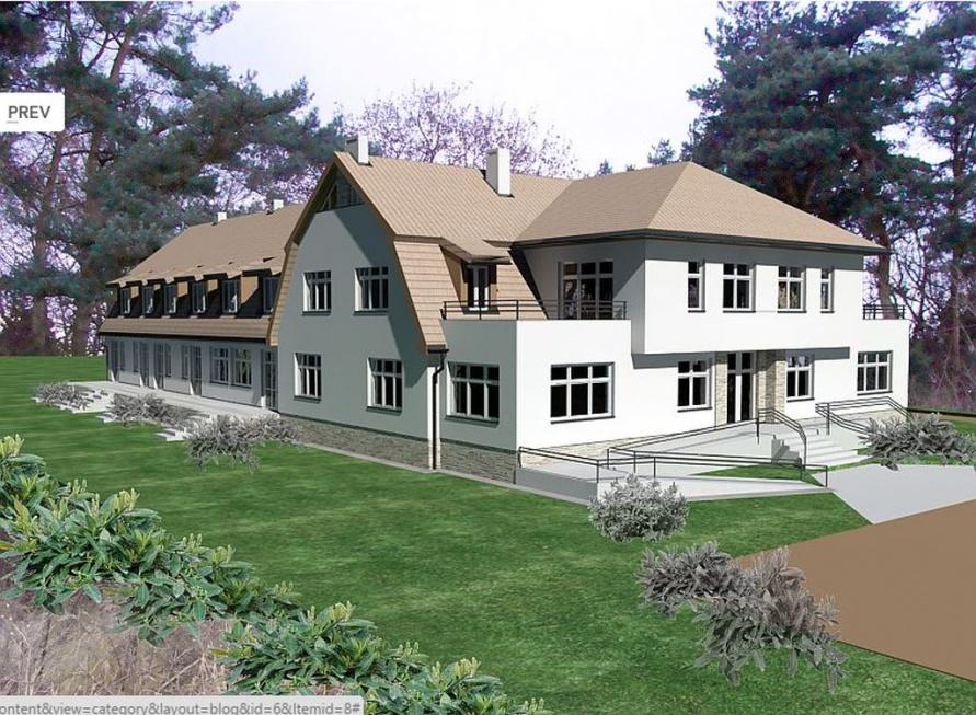 Zachodniopomorskie: budują hospicjum koło Polic - zobacz wizualizacje