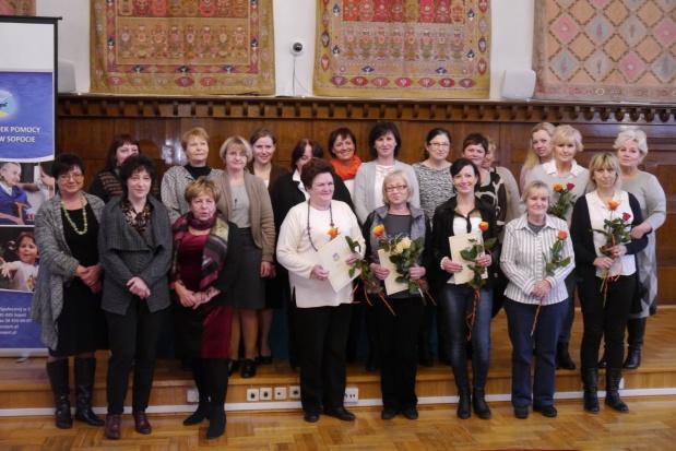 Prezydent Sopotu nagrodził najlepsze opiekunki środowiskowe