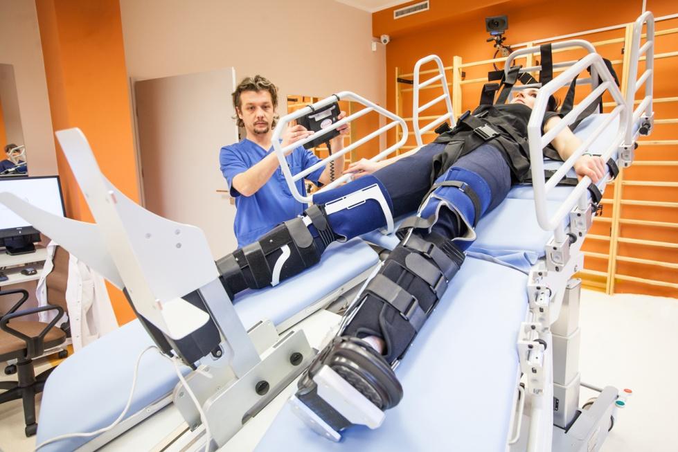 Katowice: nowy sprzęt rehabilitacyjny w szpitalu geriatrycznym