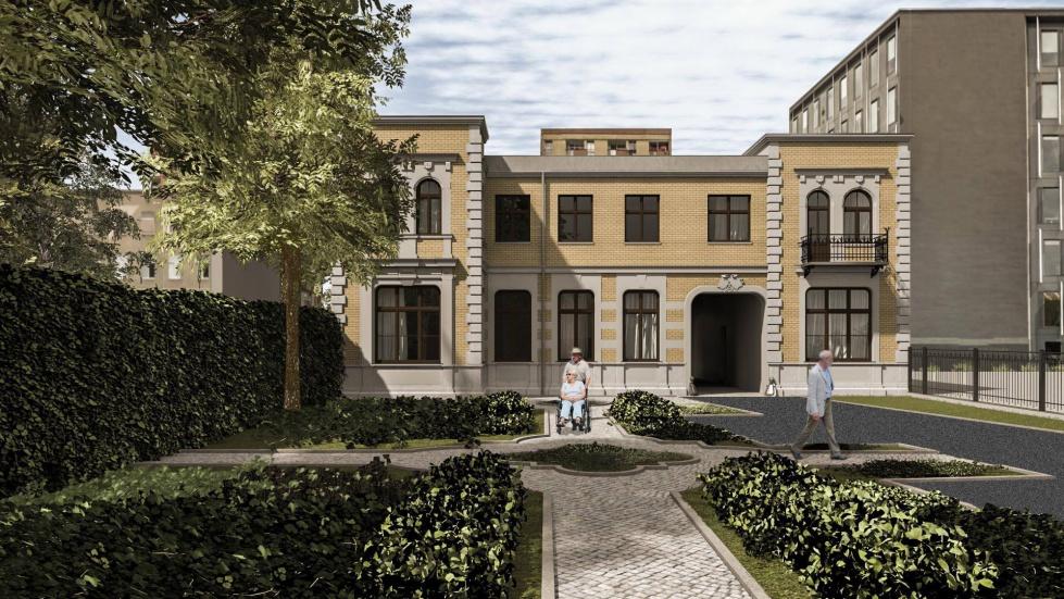 Łódź: zabytkowa willa zmieni się w wielopokoleniowy dom. Są wizualizacje