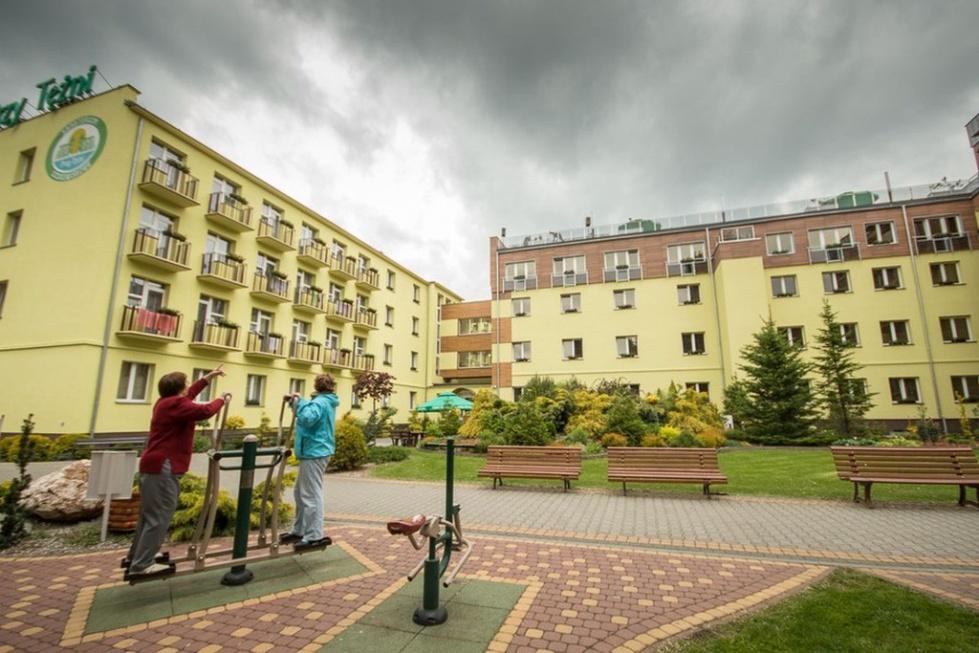 """Inowrocław: nowe piętro i taras w sanatorium """"Przy Tężni"""". Zobacz galerię"""