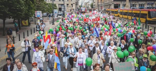 Już w sobotę Ogólnopolska Parada Seniorów w Warszawie