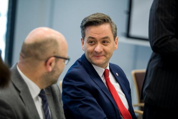Robert Biedroń o działaniach dla seniorów w Słupsku