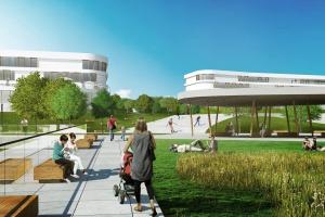 Czy powstanie sto obiektów sanatoryjnych na stu hektarach? Wizualizacje już są
