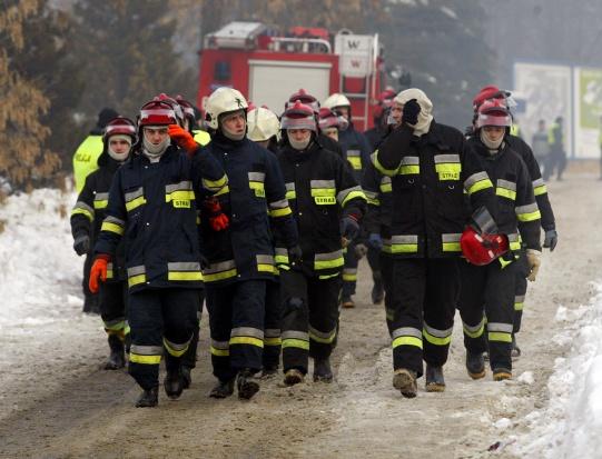 Kukiz'15 chce dodatku do emerytury dla strażaków ochotników