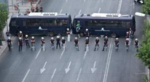 Grecja: emeryci próbowali przewrócić autobus, policja użyła gazu