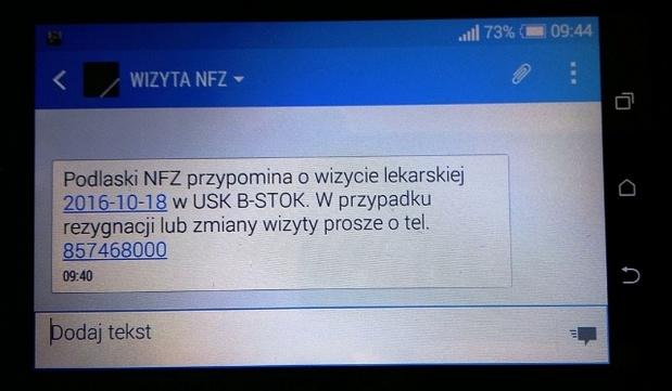 NFZ poszerza front walki z kolejkami, tym razem o Podlaskie