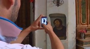 Emerytka, która popsuła fresk Jezusa, może odetchnąć. Odnaleziono pierwowzór
