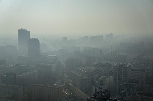 W części Mazowsza wysokie wartości zanieczyszczenia powietrza