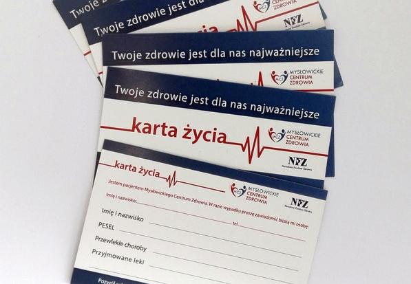 Śląskie: Mysłowickie Centrum Zdrowia stawia na Karty Życia noszone w portfelu