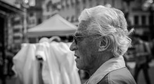 Hiszpania: protest seniorów w Madrycie