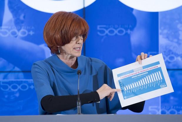 Rafalska: w 2019 r. będziemy mieli zdecydowanie lepszą propozycję dla emerytów