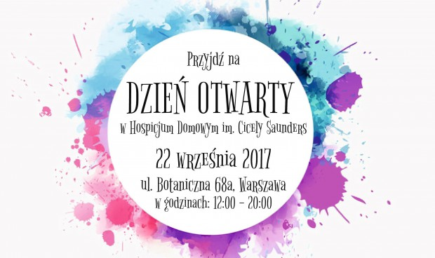 Warszawa: dzień otwarty w Hospicjum Domowym im. Cicely Saunders